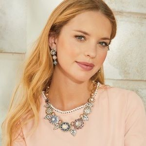 Chloe Isabel Bon Chic statement necklace earrings